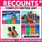 Radical Recount Writing Unit