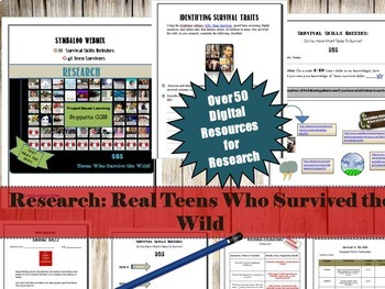 Radical Research!  High Interest Research Projects for Teens and Tweens!