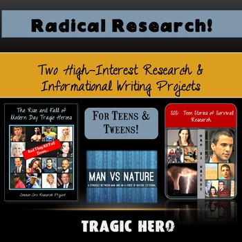 Radical Research!  High Interest Research Projects for Tee