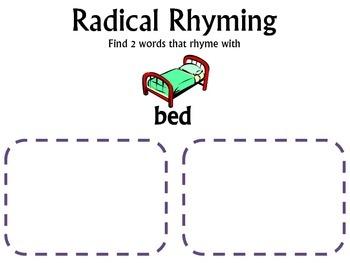 Radical Rhyming