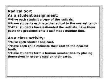 Radical Sort