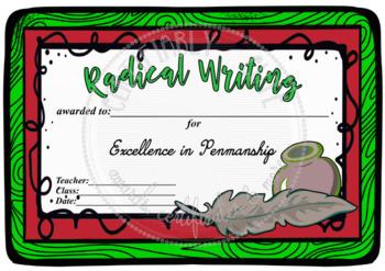 Radical Writing!