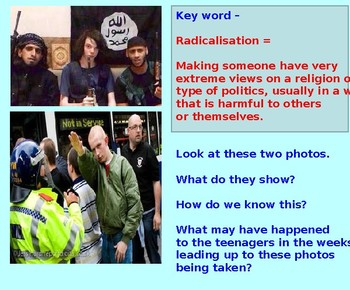 Radicalisation: Extremism