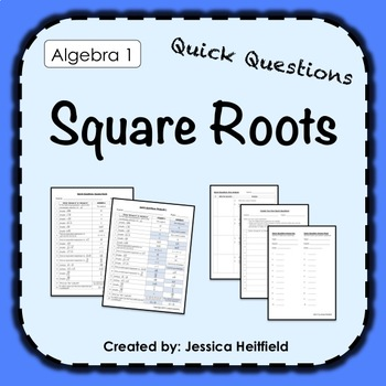 Square Roots Activity: Fix Common Mistakes!