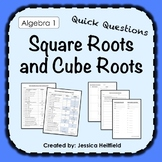 Square Roots and Cube Roots Activity: Fix Common Mistakes!