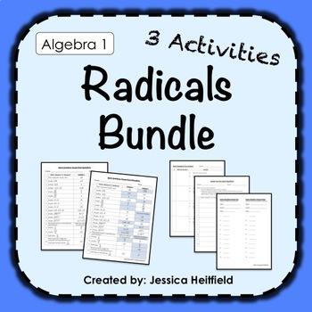 Radicals Activity Bundle: Fix Common Mistakes!
