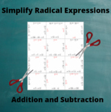 Add and Subtract Radicals: Addition and Subtraction Puzzle
