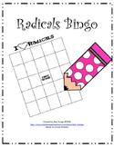 Radicals Bingo