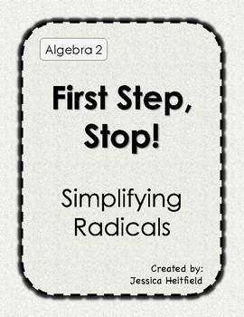 Radicals: First Step, Stop!