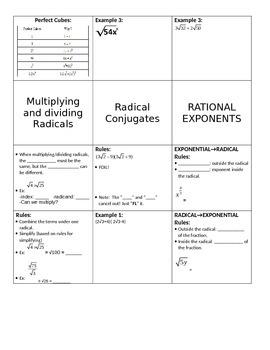 Radicals Flipbook