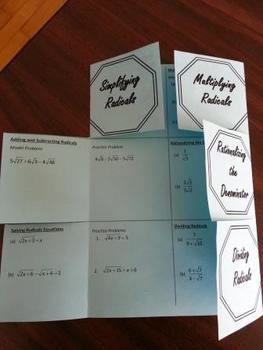 Radicals Foldable Version 1