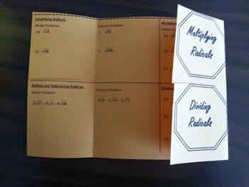 Radicals Foldable Version 2