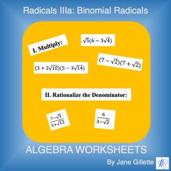 Radicals IIIa - Binomial Radical Multiplication
