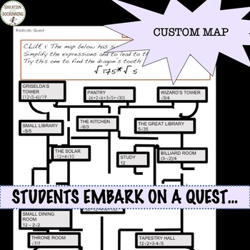 Radical Expressions Quest Activity