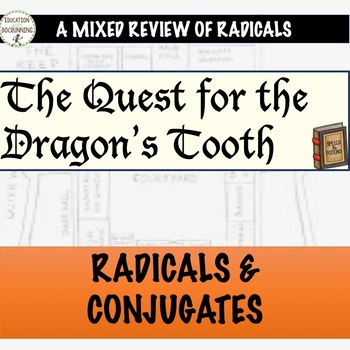 Radicals Quest Mixed Practice and Review Activity for Radi