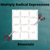 Multiply Binomial Radicals: Multiplication of Binomials