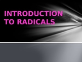 Radicals PowerPoint