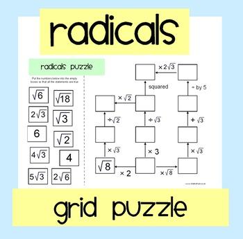 Radicals Puzzle