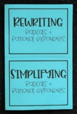 Radicals & Rational Exponents (Algebra Foldable)
