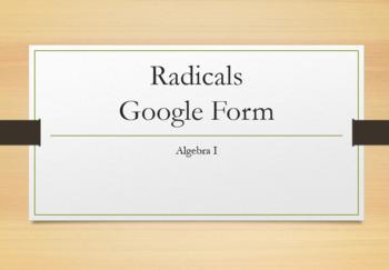 Radicals Review Google Form