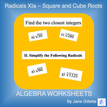Radicals Xia - Square and Cube Roots
