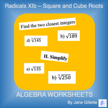 Radicals Xib - Square and Cube Roots