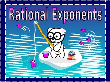 Radicals and Rational Exponents with GUIDED NOTES