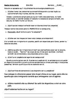 Radio Ambulante: Audio Practice OTRO PAIS