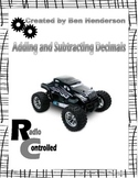 Radio Controlled Car Themed {Adding and Subtracting Decimals}