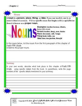 Radio Fifth Grade Literature and Grammar Unit