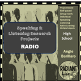 Speaking & Listening Research Project: Radio Broadcast VCAL RESOURCES