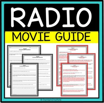 Radio- Movie Guide Questions, great for AVID