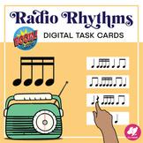 Music Distance Learning: Radio Rhythms -16th Notes- BOOM C