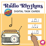 Music Distance Learning: Radio Rhythms -Half Note- BOOM Ca