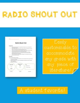 Radio Shout-Out Assignment