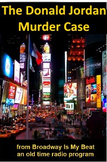 Radio Show mp3 - The Donald Jordan Murder Case