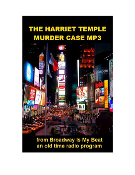 Radio Show mp3 - The Harriet Temple Murder Case