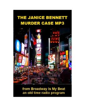 Radio Show mp3 - The Janice Bennett Murder Case