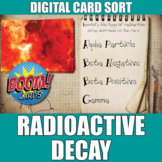 Radioactive Decay Boom Cards   Distance Learning   Self-Grading