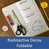 Radioactive Decay Foldable