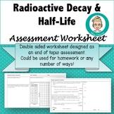 Radioactive Decay & Half-Life Assessment