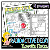 Radioactive Decay, Radioactivity: Nuclear Energy - Physics Doodle Notes
