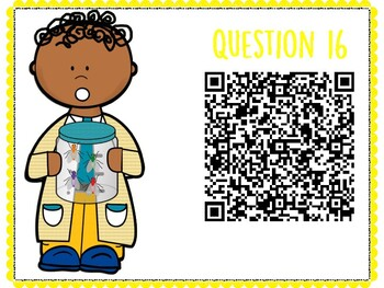 Waves QR Code Hunt (Content Review or Notebook Quiz)
