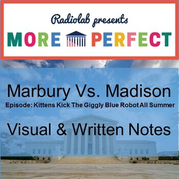 Radiolab's More Perfect Podcast Listening Guide - Marbury Vs Madison