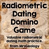 Radiometric Dating Domino Game (Math Problem Practice)