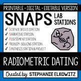 Radiometric Dating Lab Stations Activity