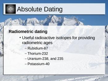 radiometric dating ppt mari and flitz dating