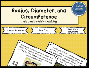Radius, Diameter, and Circumference Word Problems