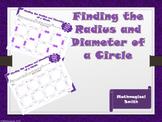 Radius and Diameter Maze