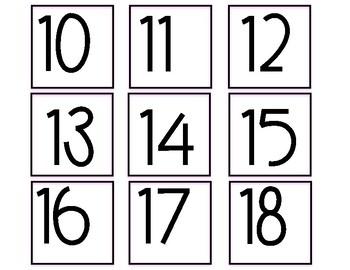 Rae Dunn Calendar Pieces Pink